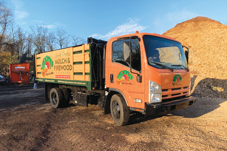 Introducing Woody's Recycling, Inc., our green waste recycling center.